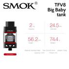 TFV8 Big Baby 2ml light edition tank