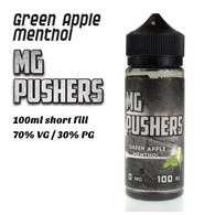 Green Apple Menthol - MG Pushers e-liquids - 100ml