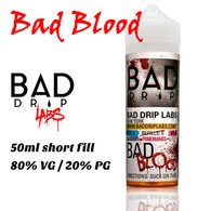 Bad Blood - by Bad Drip e-liquid - 80% VG - 50ml