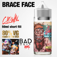 Brace Face Clown e-liquid by Bad Drip Labs - 80% VG - 50ml