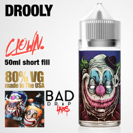 Drooly Clown e-liquid by Bad Drip Labs - 80% VG - 50ml