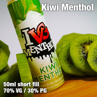 Kiwi Menthol by I VG e-liquids - 50ml
