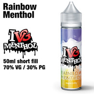 Rainbow Menthol by I VG e-liquids - 50ml