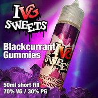 Blackcurrant Gummies by I VG e-liquids - 50ml