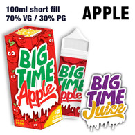Apple - Big Time Juice - 70% VG - 100ml