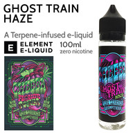 Ghost Train Haze - Cheeba by Element e-liquid - 70% VG - 100ml