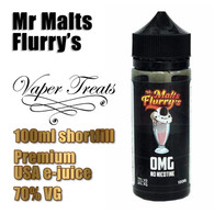 Mr Malts Flurry's - Vaper Treats e-liquid by Ruthless - 70% VG - 100ml