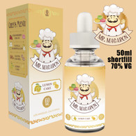 Lemon Cake - Mr Macaron e-liquid - 70% VG - 50ml