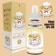 Vanilla Marshmallow - Mr Macaron e-liquid - 70% VG - 50ml