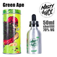 Green Ape - Nasty e-liquid - 70% VG - 50ml