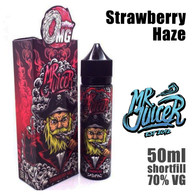 Strawberry Haze - Mr Juicer e-liquid - 70% VG - 50ml