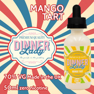 Mango Tart - Dinner Lady e-liquids - 70% VG - 50ml