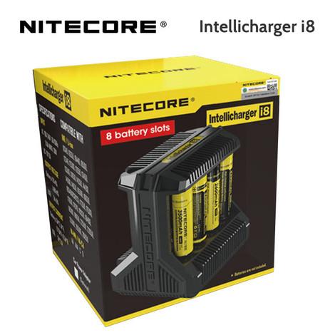 Nitecore i8 Intellicharger