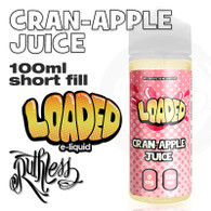 CRAN-APPLE JUICE by Loaded by Ruthless e-liquid - 70% VG - 100ml