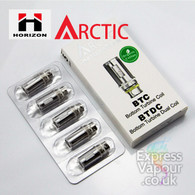 5 Pack - Horizon Arctic Atomisers - Bottom Turbine Duel Coil BTDC and BTC
