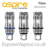 5 Pack of Aspire Triton Atomisers Coils