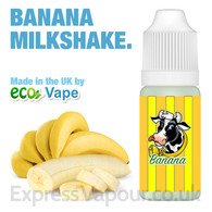 Banana Milkshake - by ECO VAPE e-liquid - 70% VG - 30ml