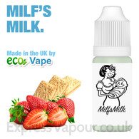 Milf's Milk - by ECO VAPE e-liquid - 70% VG - 30ml