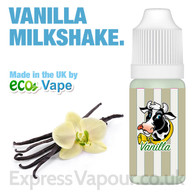 Vanilla Milkshake - by ECO VAPE e-liquid - 70% VG - 30ml