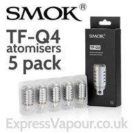 5 Pack - SMOK TF-Q4 Quadruple Coil 0.15 Ohm Atomisers