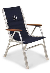 Forma Marathon Deck Chair - Navy
