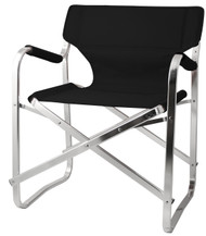Sophiste Deck Chair – Black