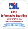 2016 Informative Speaking 2A Finals