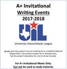 A+ Invitational Writing Events