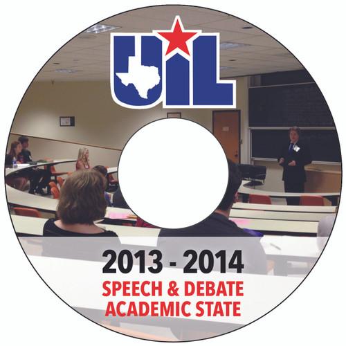 2013-14 Speech & Debate DVD