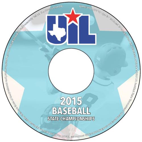 2015 Baseball Tournament DVD