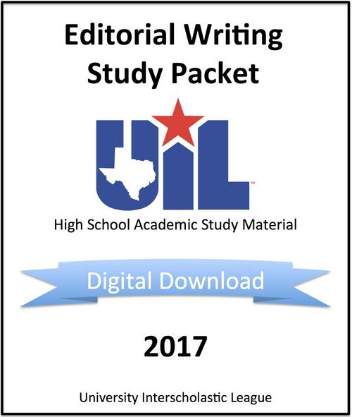 Editorial Writing 2017