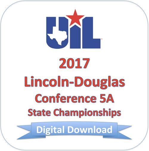 2017 Lincoln-Douglas 5A Finals
