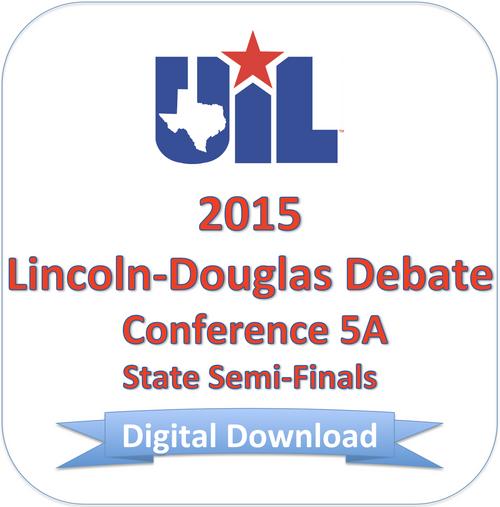 2015 LD Debate 5A Semi-Finals