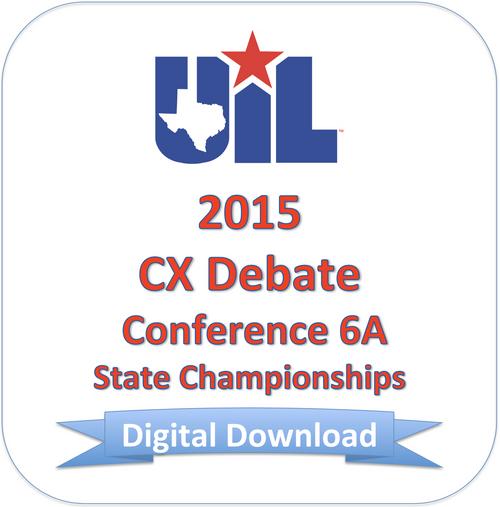 2015 CX Debate 6A Finals