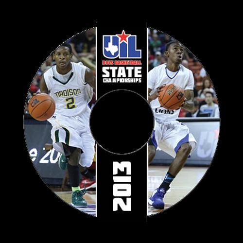 2012-13 Boys Basketball Tournament DVD