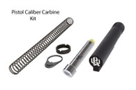 Pistol Caliber Carbine 6 Position Mil-Spec Stock Completion Kit