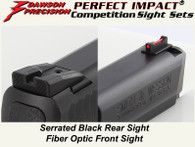 Dawson Precision Competition Sight Set - M&P