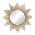 Sterling 132-011 Churchfield Metal Frame Starburst Mirror