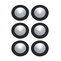 Alico WLE140C32K-0-31-6 6-Polaris LED Kit - 3W 32K 700Ma Pucklights in White (C/W 18W Driver & Harness)