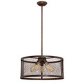Millennium Lighting 3275-RBZ Akron Pendant in Rubbed Bronze