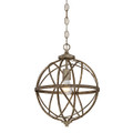Millennium Lighting 2281-AS Lakewood Pendant in Antique Silver