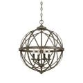 Millennium Lighting 2284-AS Lakewood Pendant in Antique Silver
