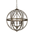 Millennium Lighting 2285-AS Lakewood Pendant in Antique Silver