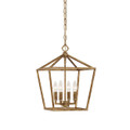 Millennium Lighting 3234-VG Pendant in Vintage Gold