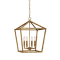 Millennium Lighting 3244-VG Pendant in Vintage Gold