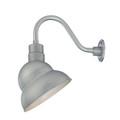 Millennium Lighting RES12-GA R Series Warehouse Emblem Shade Light in Galvanized