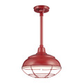 Millennium Lighting RWHS14-SR R Series Warehouse Light in Satin Red