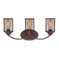 Millennium Lighting 3273-RBZ Akron Vanity Light in Rubbed Bronze