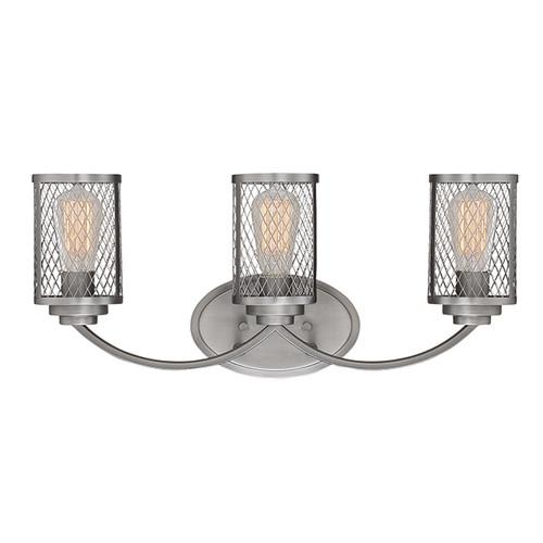Millennium Lighting 3273-BPW Akron Vanity Light in Brushed Pewter
