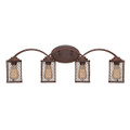 Millennium Lighting 3274-RBZ Akron Vanity Light in Rubbed Bronze